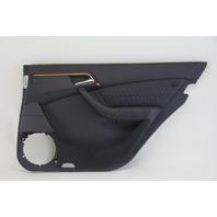 Mercedes S430 00-06 Door Panel Lining Trim, Rear Right, Black 2207309862