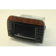 Mercedes S430  Navigation Command Display Screen, Audio Control 220 820 59 89