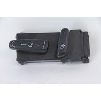 Saab 9-3 Sedan 03-07 Power Seat Switch Left/Driver Side, Black 24446718, OEM
