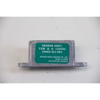 Acura TL Yaw Lateral Acceleration Rate Sensor 39960-SLJ-003 OEM A968 07-08 2007, 2008