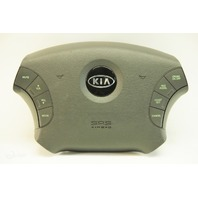 Kia Amanti 04 05 06 Steering Wheel Airbag, Gray, Leather W/Buttons 56900 3F940ML