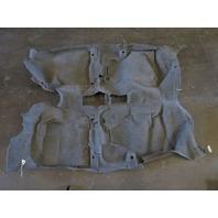 Toyota Prius Interior Floor Carpet, Gray 58510-47200-B0 04 05 06 07 08 09 2004