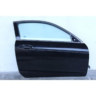 Honda Accord Coupe 08-12 Front Door Assy Right Side Electric, Black