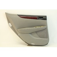 Lexus ES300 02-03 Rear Driver Door Panel Trim, Gray Leather 67640-33673-B1