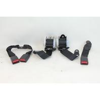 Scion tC 11 12 13 Rear Seat Belt Set Black OEM 73370-21090-B0