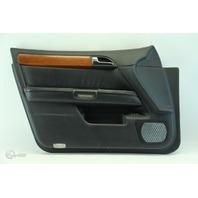 Infiniti M35 06-07 Door Panel Trim Lining Front Left Side, Black 80901-EJ25B