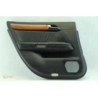Infiniti M35 06-07 Door Panel Trim Lining Rear Left Side, Black 82901-EH201