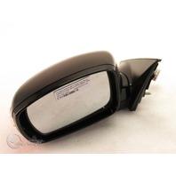 Hyundai Genesis 09-13 Side View Mirror Left/Driver Side, Black 87610-3M520