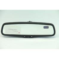 Lexus RX330, RX400H, RX350 Interior Compass Rear View Mirror Black 87810-0E010