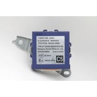 Lexus ES350 Park Assist Clearance Warning Control Module 89340-33061 OEM 07-12