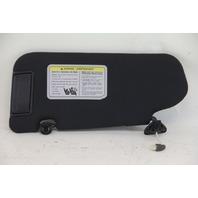 Infiniti FX35 FX45 06 07 08 Sun Shade Visor Sunvisor Right Side Black 96400-CL70B