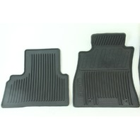 Nissan Juke 11-15, All Weather Rubber Floor Mats, Front & Rear Set, Black, OEM