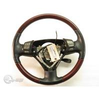 Lexus ES 330 05-06 Leather Steering Wheel w/ Audio Display Cruise Switch, Red