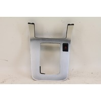 Infiniti G35 Coupe AT Shifter Hazard Switch Bezel Trim Silver 2005 2006 2007, Factory OEM
