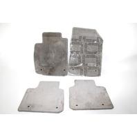 Lexus ES350 Full Floor Carpets Set Grey OEM 07 08 09 10 11 12