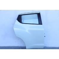 Nissan Juke 11-14, Rear Right/Pass. Door Assy. White HBA0M-1KAMA, Factory OEM