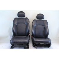 Mercedes Benz C230 Sedan 03 04 05 06 07 Front Seat Assembly Right/Left Set Black Leather