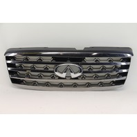Infiniti FX35 FX45 06 07 08 Sport Package Dark Chrome Grill Grille 62310-CL70B