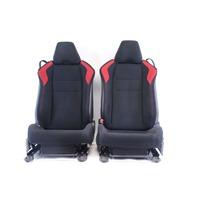 Scion FR-S Subaru BRZ 13 14 15 Front Left & Right Cloth Black/Red Seats Set
