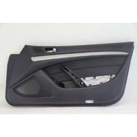 Infiniti G37 Coupe 09-13 Front Right Door Panel, Black 80900-JL02B OEM
