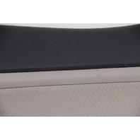 Kia Optima Door Panel Rear Right Side Leather Black/Tan OEM 2011-2013