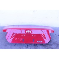 Scion FR-S Subaru BRZ Rear Liftgate Trunk Lid Assembly, Red  13 14 15