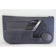 Scion tC Left/Driver Side Door Panel Black Silver Cloth OEM 11 12 13 14 15