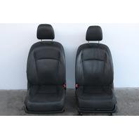 Lexus ES350 10 Front Black Driver Right/Left Passenger/Driver Seat Set Leather OEM