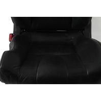 Nissan 350Z 03-07 Front Seat Left/Driver Black/Orange Leather 87400-CD040