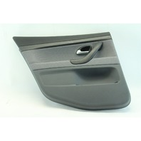 Saab 9-3 Sedan 03-07 Door Panel, Rear Left/Driver Side Gray Cloth 12791654