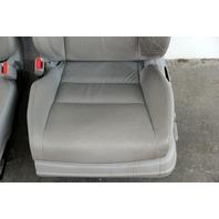 Honda Accord Sedan 08-10 Seat Assy Set, Right Pass/Left Driver Gray/Grey Leather