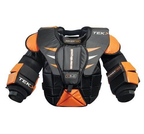 PowerTek Barikad V5 0 Ice Hockey YOUTH Goalie Goal Chest Arm Pads, S/M or  L/XL | LNC Sports, LLC DBA: Instant Replay Sports