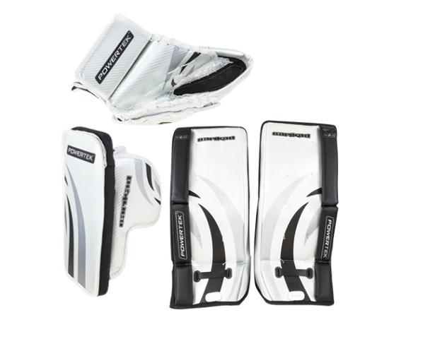 Powertek Barikad V2 0 Junior Hockey Goalie Pad Set 26 Leg Pads