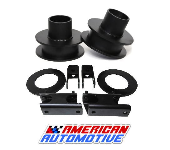 1999-2007 Silverado Sierra Lift Kit 2 2WD Made in USA Road Fury Steel Coil Spring Spacers Set of 2