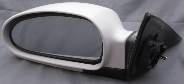 Black Power Side View Door Mirror Driver Left Hand LH for 99-05 Sonata
