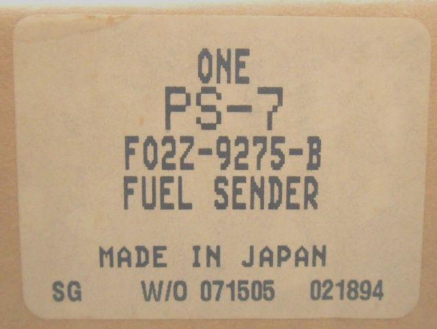 NOS New Genuine 1990-1992 Ford Probe Fuel Sending Unit Fuel Tank Sensor