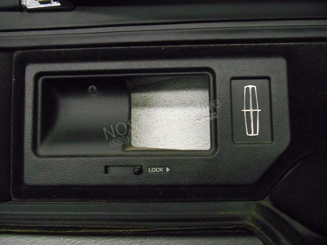 Nos New Oem 1993 1994 Lincoln Town Car Right Black Interior Door