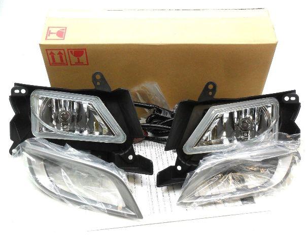 New OEM 2010-2011 Mazda 3 I Sedan Fog Light Lamp Kit Left /& Right Complete