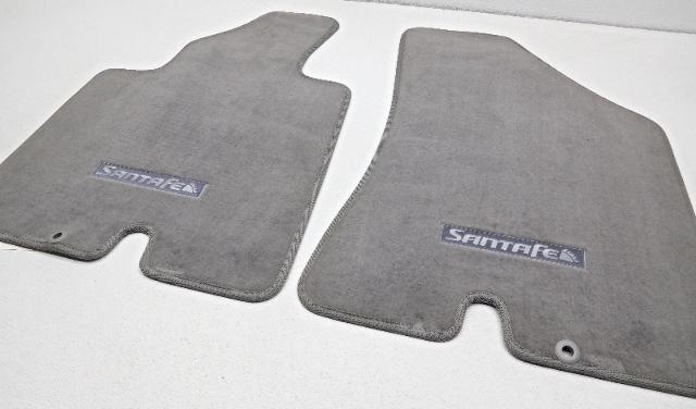 New Oem Hyundai Santa Fe 7 Passenger Floor Mat Set Round Grommet