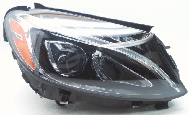 OEM 2015 Mercedes C300/C350 LED Headlight  Lens Spots