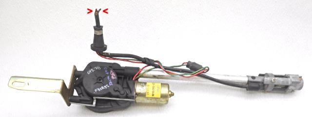aa027984 used oem 1985 1988 ford thunderbird mercury cougar power antenna wire cut 412751163 oem 1985 1988 ford thunderbird mercury cougar power antenna wire cut