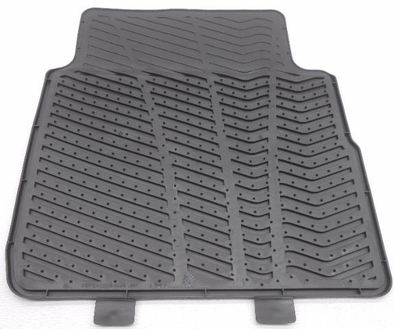 Genuine Hyundai Accessories 3QF13-AC200 Rear All Weather Floor Mat for Hyundai Sonata//Hyundai Sonata Hybrid