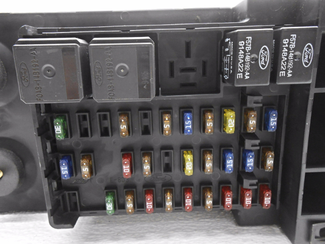 Aa New Old Stock Ford F F Cabin Fuse Box With Cover And Relays
