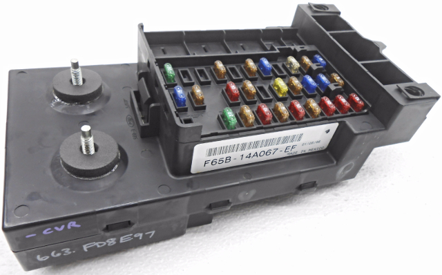 new old stock ford f150 f250 expedition cabin fuse box w o relays or rh ebay com vy commodore cabin fuse box location ve cabin fuse box