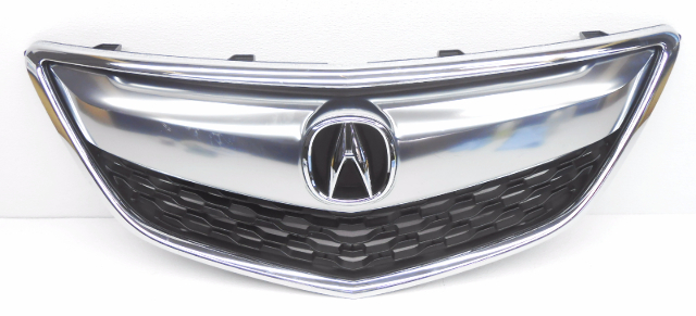 OEM Acura MDX Adaptive Cruise No Radar Front Upper Grille W Emblem - Acura mdx front grill