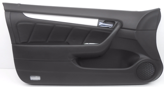 oem honda accord coupe left driver side interior door panel leather