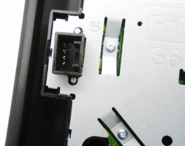 Oem Ford F  Radio Temperature Control Panel Faceplate Repair No Heat Controls