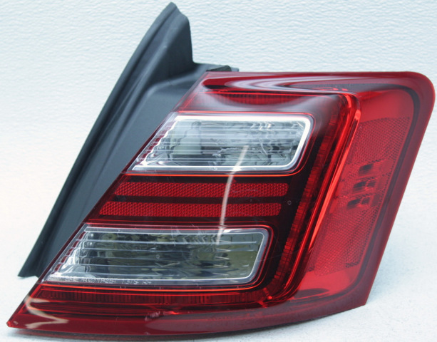 1932 FORD PASSENGER DELUXE TAIL LAMPS  LEFT HAND W// RED LENS