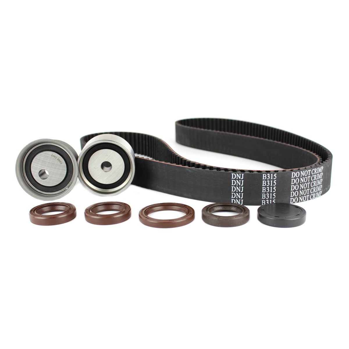 Timing Belt Kit For 2001 To 2005 Kia Optima Sportage 25 27 Installation Liter Dohc