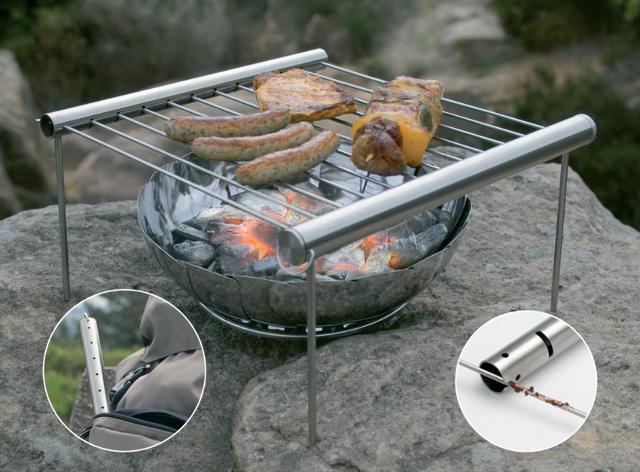 Nouveau Grilliput Camp Grill Camping Gear GRL42001